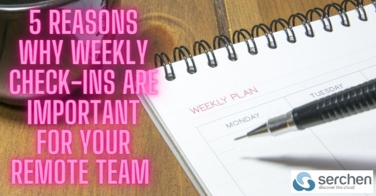 Weekly Check-ins Are Vital For Your Remote Team